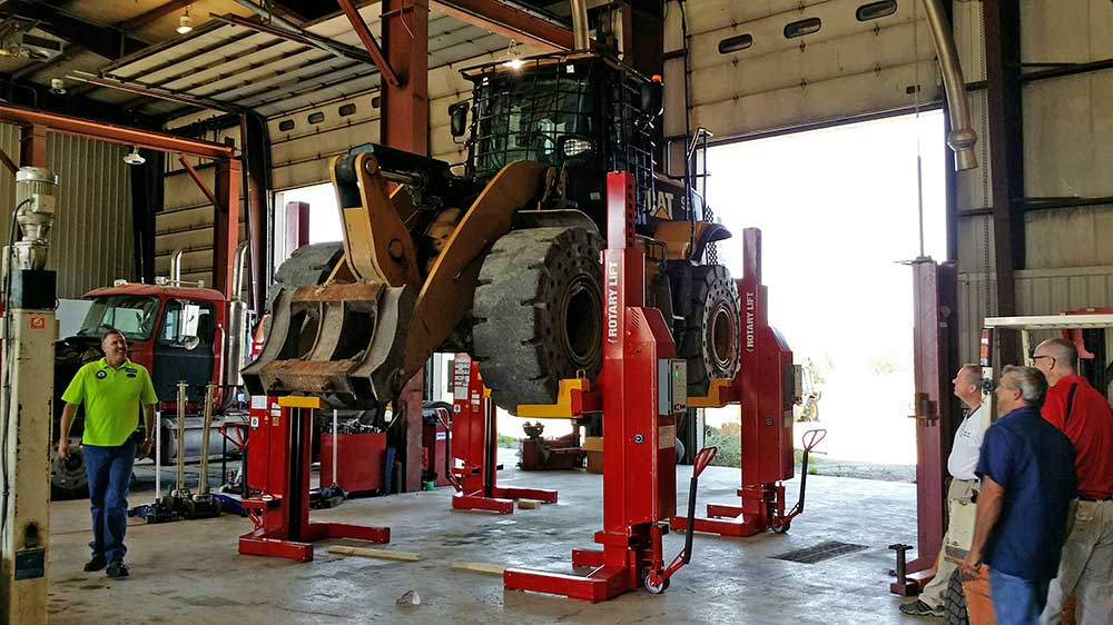 Installation And Service Lifts Auto Repair Shop