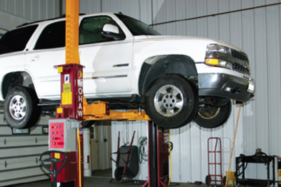 Total Tool carries Mohawk Lifts Automotive Repair Shop Equipment