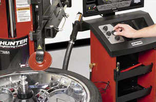 Total Tool carries Hunter Engineering Automotive Repair Shop Equipment