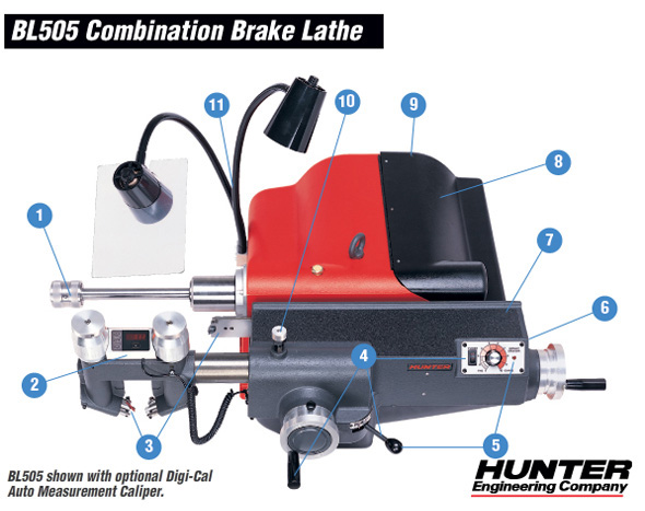 Total Tools sells Hunter Brake Lathes and Accessories