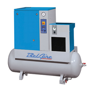 Total Tool sells and services BELAIRE TWO STAGE ELECTRIC DUPLEX COMPRESSORS 10 TO 20 HP