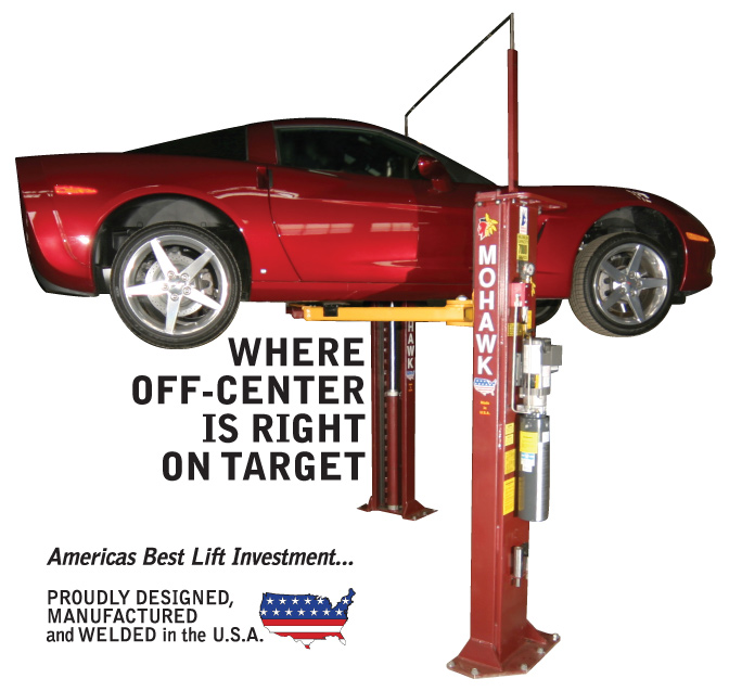 Mohawk lifts are manufactured in the USA