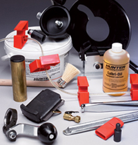 Total Tool carries the full line of Hunter Tire Changers and Tire Changing Accessories
