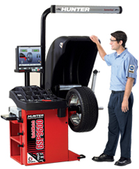 Hunter GSP9600 QuickMatch wheel balancer