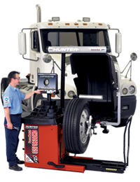 GSP9600HD ForceMatch Heavy-Duty Wheel Balancer