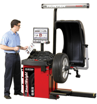 Hunter SmartWeight wheel balancer