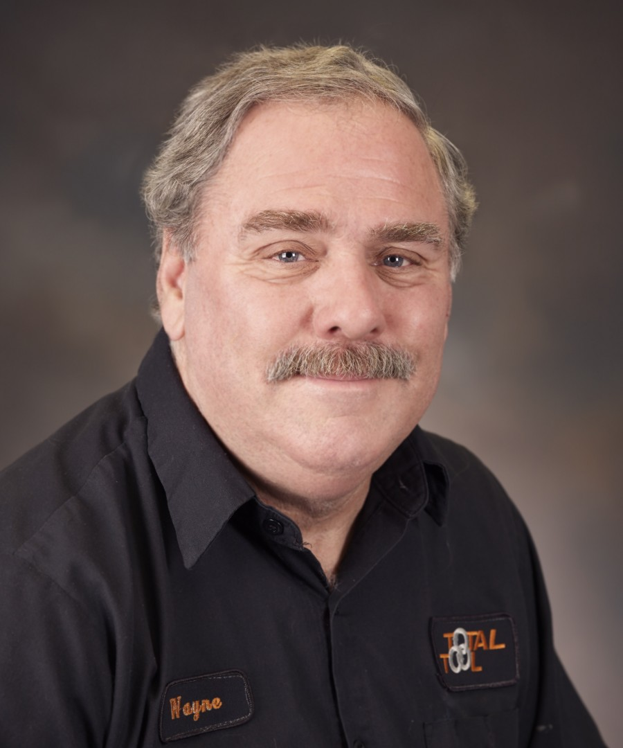 Wayne Figler Service Technician for Total Tool, area's top provider of automotive shop equipment, and car and truck lifts.