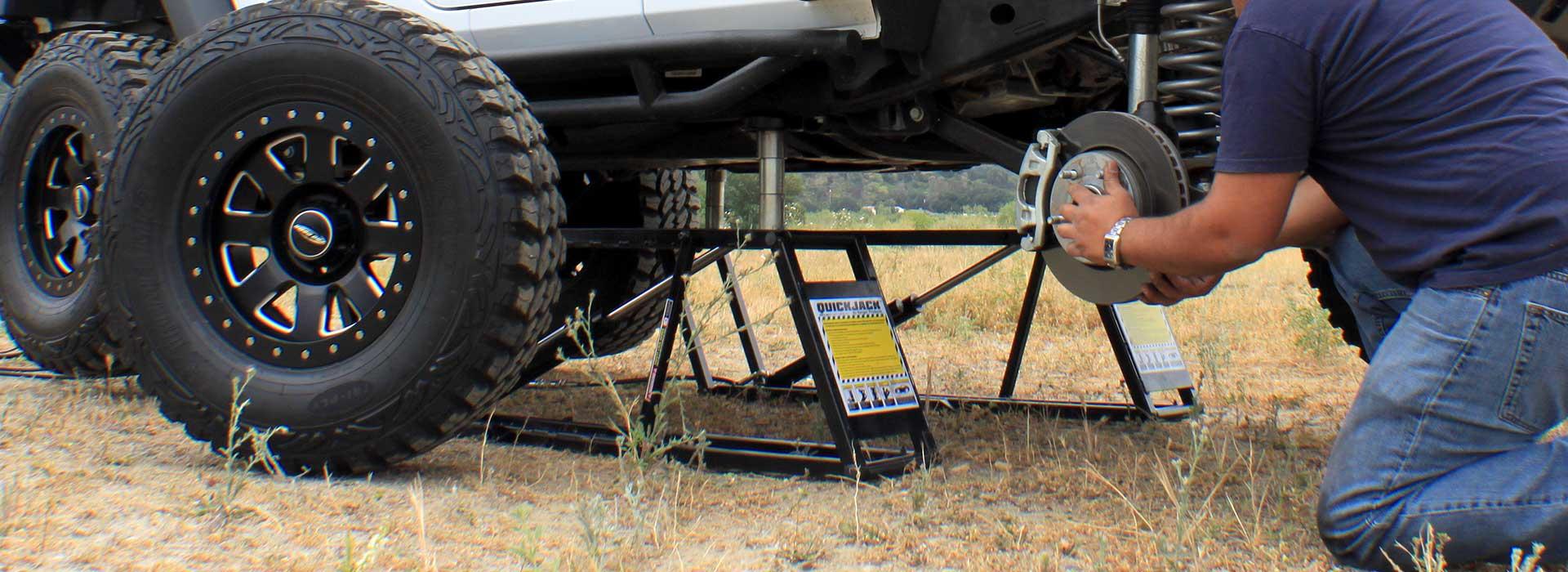 Portable Tire Lift : Automotive lifts repair shop equipment total tool