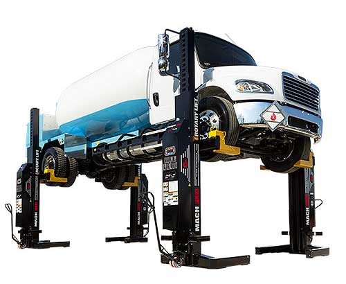 Rotary Mach Flex heavy duty lifts from Rotary Lifts are in stock and ready for delivery from Total Tool