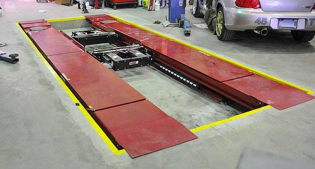 Hunter Alignment Rack >> Used Equipment Total Tool