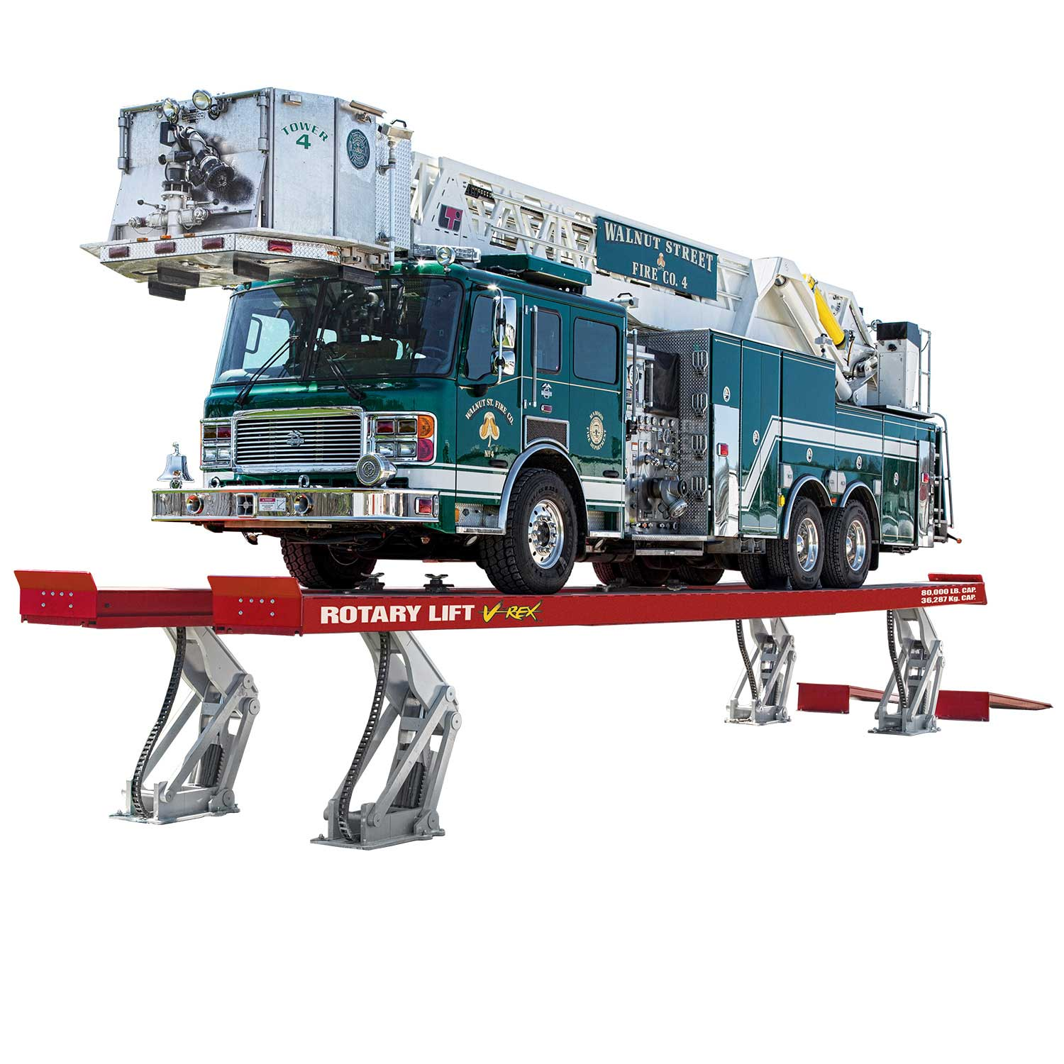 Image of Rotary Heavy Duty Lifts model VREX