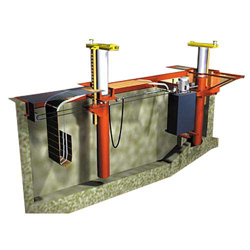 Image of Rotary Heavy Duty Lift - Traditional In ground lift